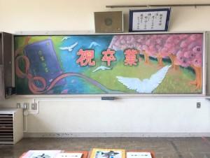 黒板アートkai
